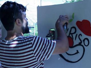 Festival EuRiso oferece Oficina de Grafite com o artista Tiago Carva