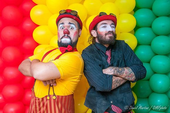 Los Churungas | Show de Palhaços , malabarismo, mágicas, circo, aniversário, festa infantil, Churumello, Incrível Melão