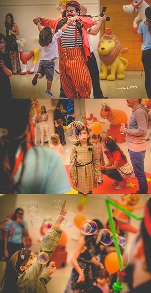 Festa infantil, palhaço, show de palhaço rj, Rio de Janeiro, Show de Bolhas, bolha de sabão gigantes