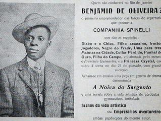 O primeiro palhaço negro do Brasil na Sapucaí