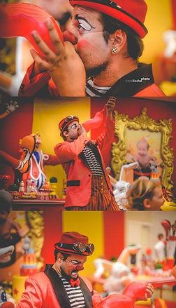 Palhaço Churumello , Show de Palhaço, circo, mágica, festa infantil, atração, malabarismo