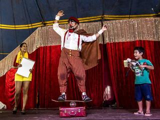 Palhaço Churumello foi uma das atrações do Festival EuRiso
