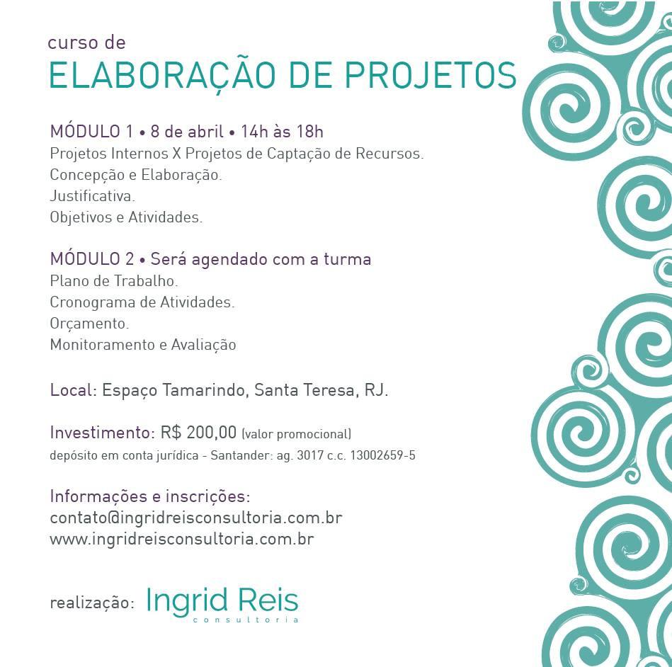 Curso de Elaboração de Projetos