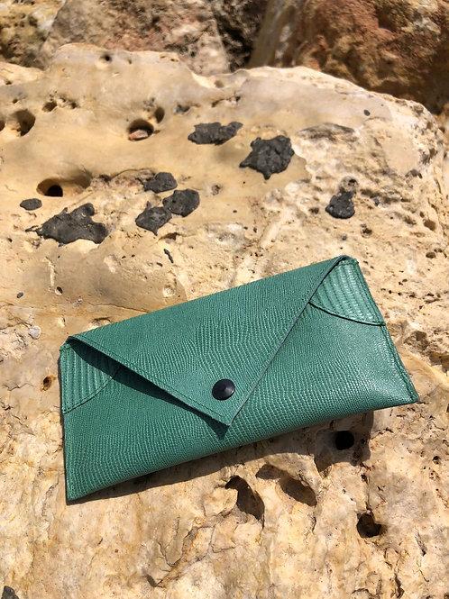 Small light green envelope