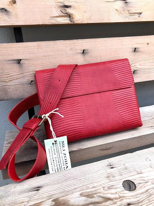 RED LEZARD BAG