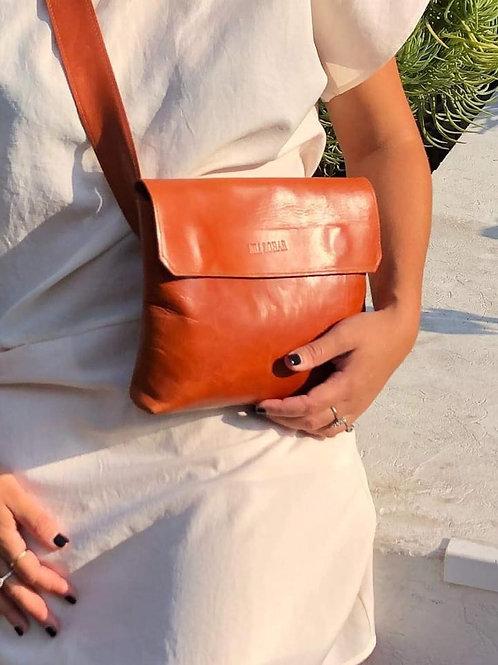 CLICK BAG BROWN ITALY