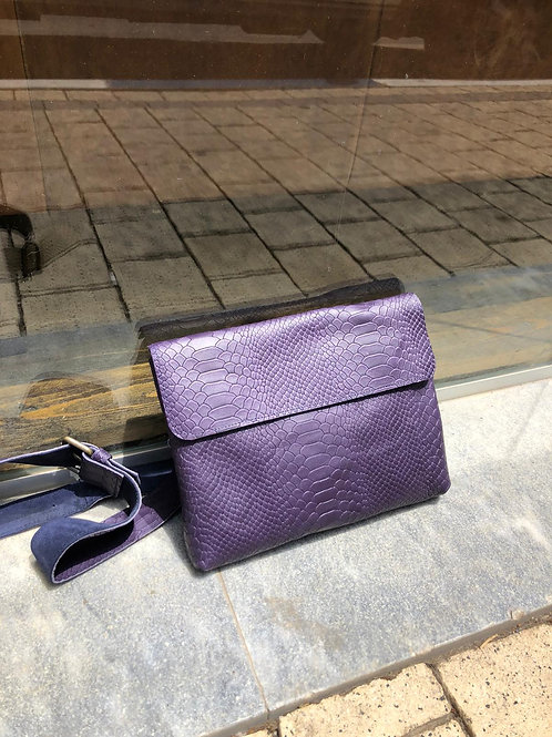 purple  Anaconda snake bag