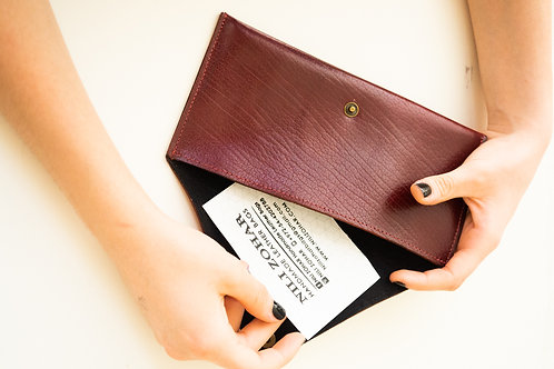 ENVELOPE WALLET SMALL RED