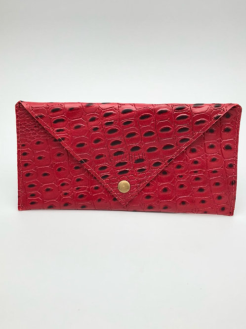 ENVELOPE WALLET SMALL RED&BLACK