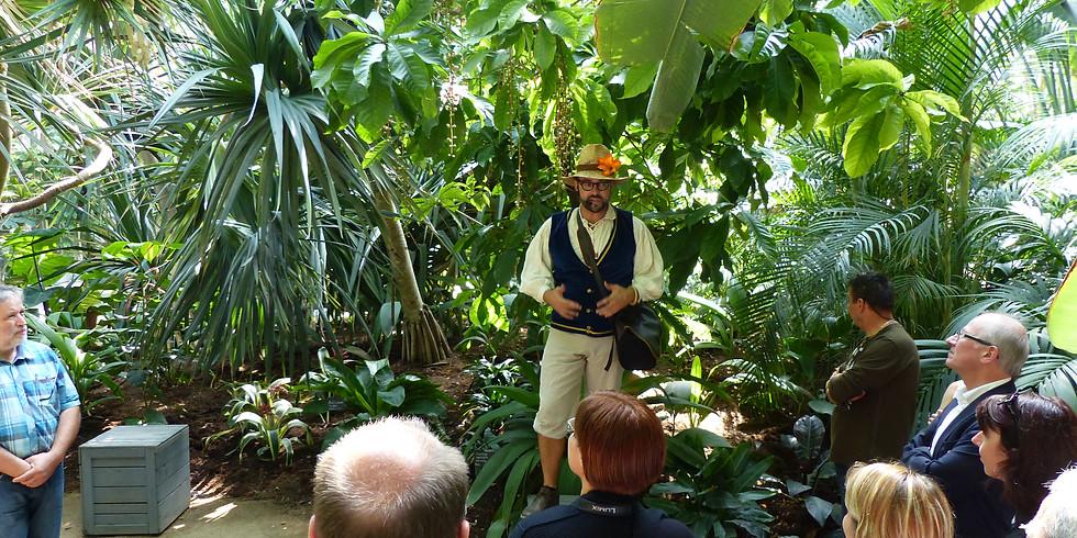 Voyage au cœur des serres tropicales et des épices du monde avec Capitaine Shaker !