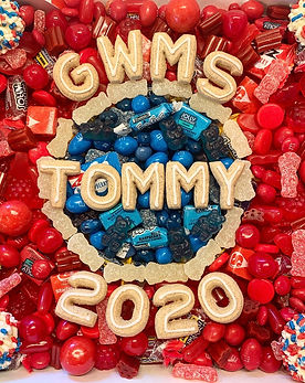 Custom Candy Box-$55
