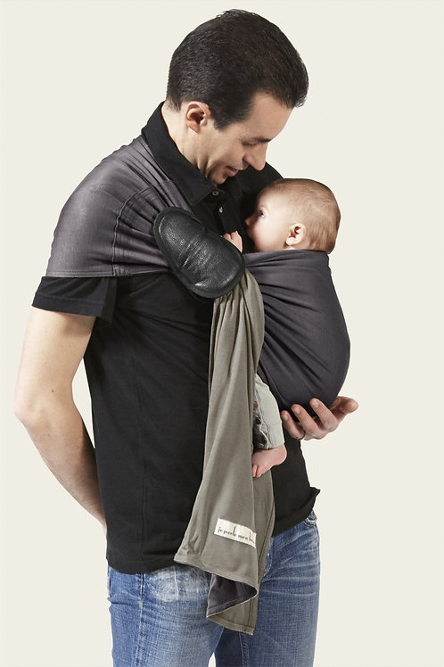 Ring Sling, Charcoal Grey and Olive