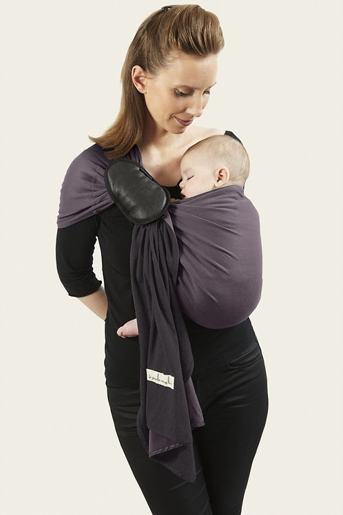 Ring Sling, Charcoal Grey and Glazed Brown