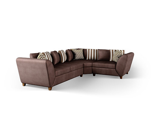 Adrian Sectional Sofa (Two Arms)