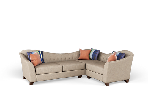 Homer Sectional Sofa (Two Arms)