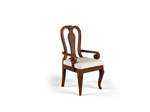 Queen Anne Head Chair