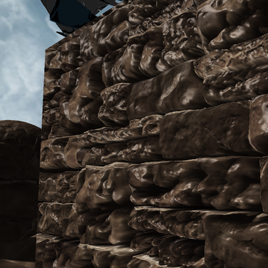 Parallax Occlusion Mapping Close Up