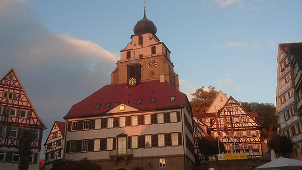 Herrenberg town square