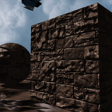 Parallax Mapping Close Up