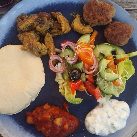 Griekenland: gyros, Griekse salade, tzatziki, bifteki