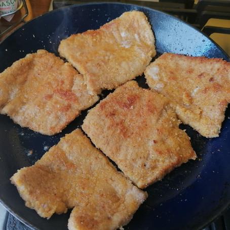 Huisgemaakte schnitzel