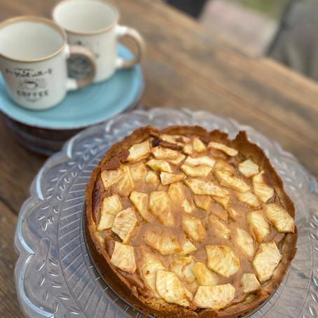 Appel-toffee-taart