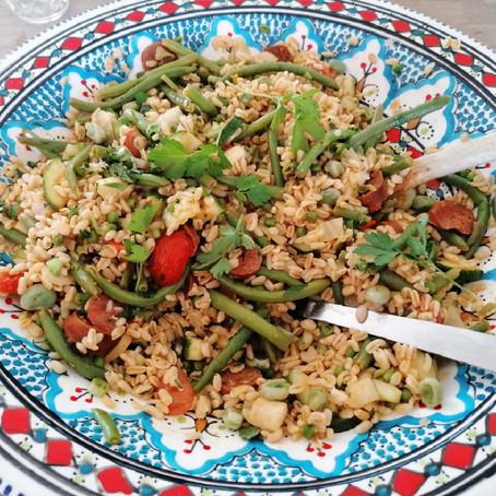 Fregola sarda salade