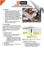 RimRiser precast concrete install guide thumbnail