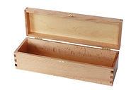 Деревянная шкатулка для упаковки бутылки вина
