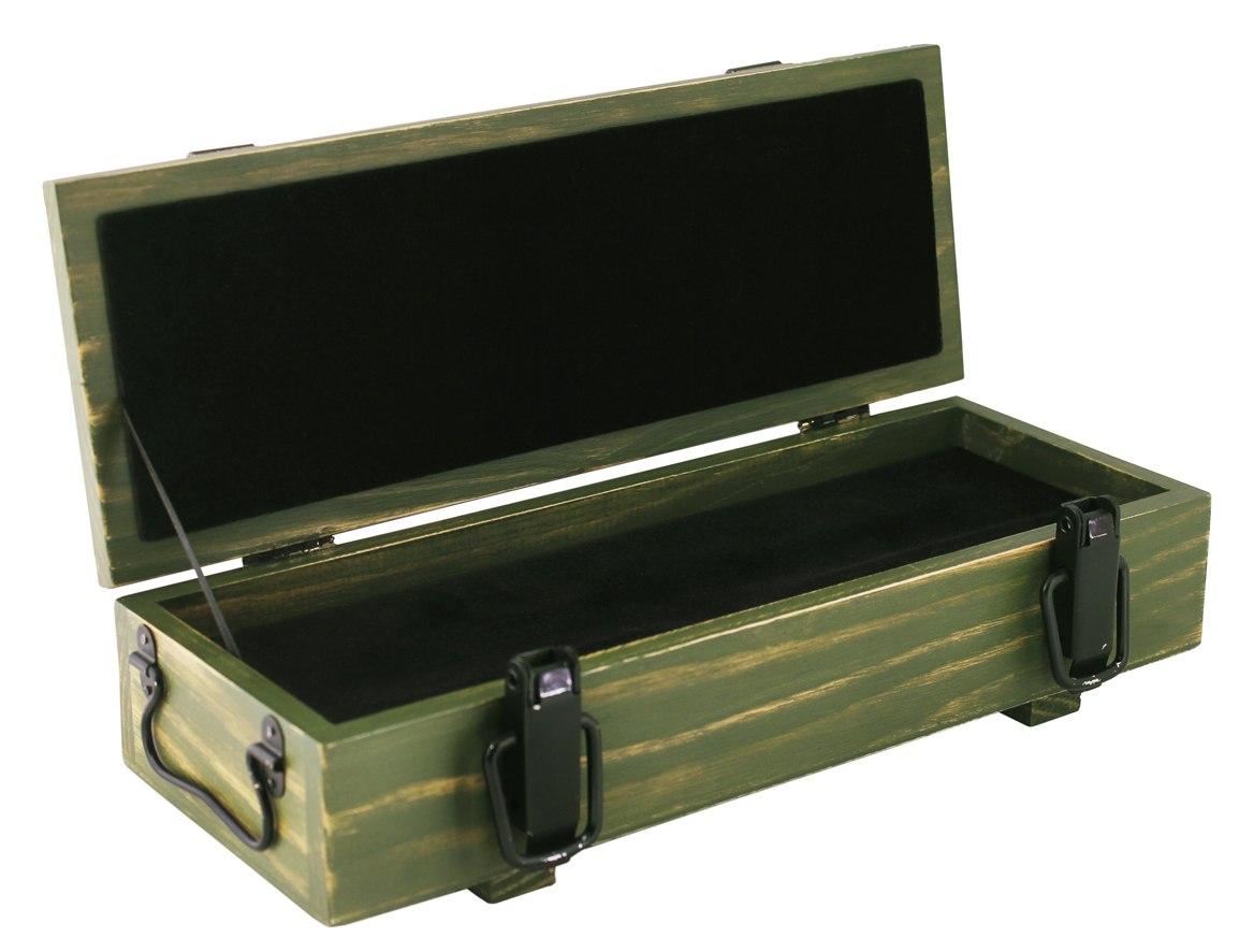 Армейский реечный ящик под сувенир