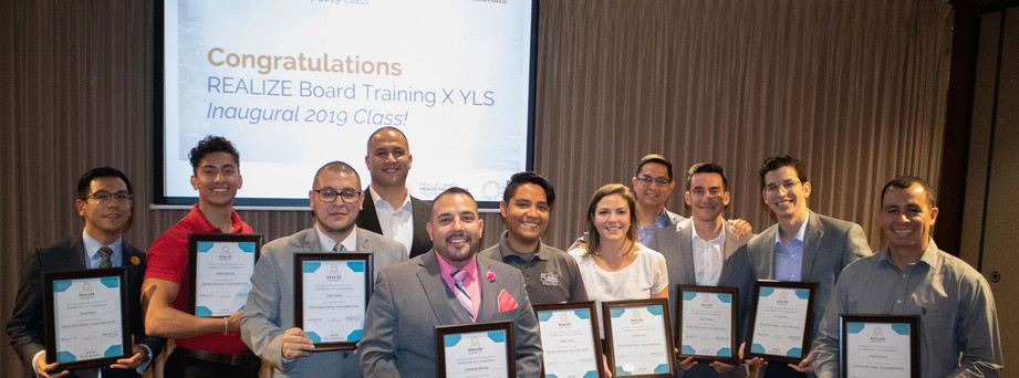 Young Leaders Society Cohort by REALIZE Board Training Program