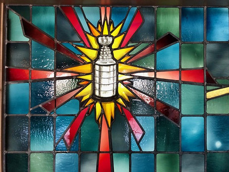 Stained Glass Art predicts Stanley Cup destination.