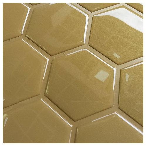HEXAGONAL - dourado