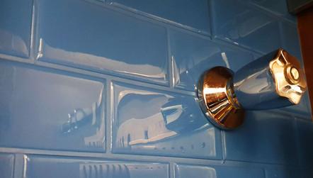 pastilha adesiva resinada - subway azul allure