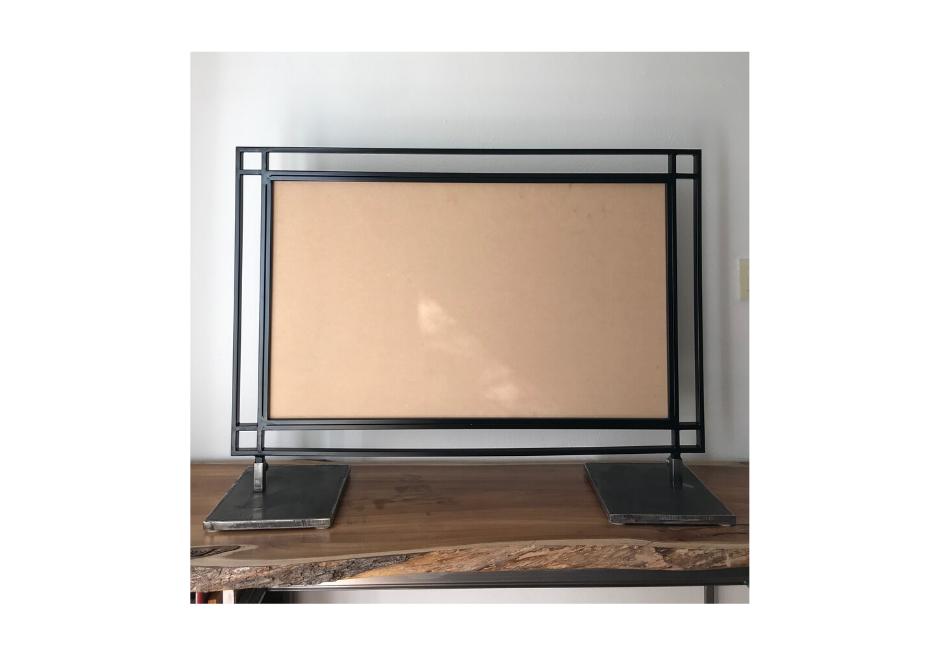 Table Escort/Sign Frame - Black