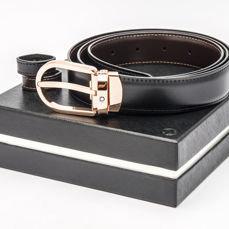 Cinturon Montblanc reversible piel