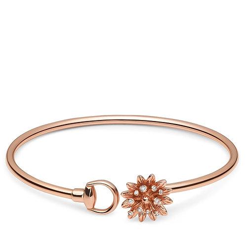 Pulsera Gucci Oro18 K y Diamantes