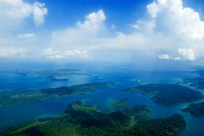aireal view of Andaman Islands