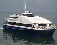 Makruzz catamaran ferry - Port Blair