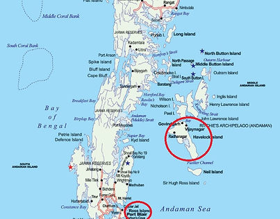 Map - Andaman Islands
