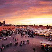 Night Market Marrakech