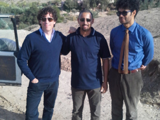 A few days with Richard Ayoade and Stephen Magnan