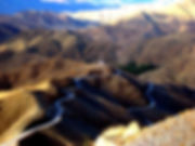 High Atlas Mountains Pass