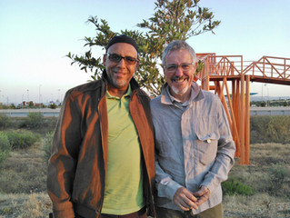 On the road again with British Comedian - Griff Rhys Jones