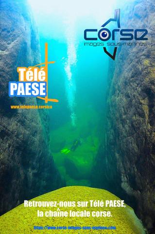 Prochainement, retrouvez nous sur Télé Paese la chaîne locale corse.