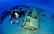 épave du B-17 du Ricanto Ajaccio, corse Cotton Eyed Joe 2
