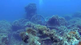 vidéos épaves sous-marines de corse