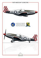 Don Taylord P-51 Mustang de l'isolella