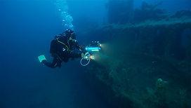 épaves sous-marines de bateaux de corse