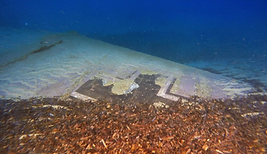 épaves sous-marines d'avions alllemands de corse